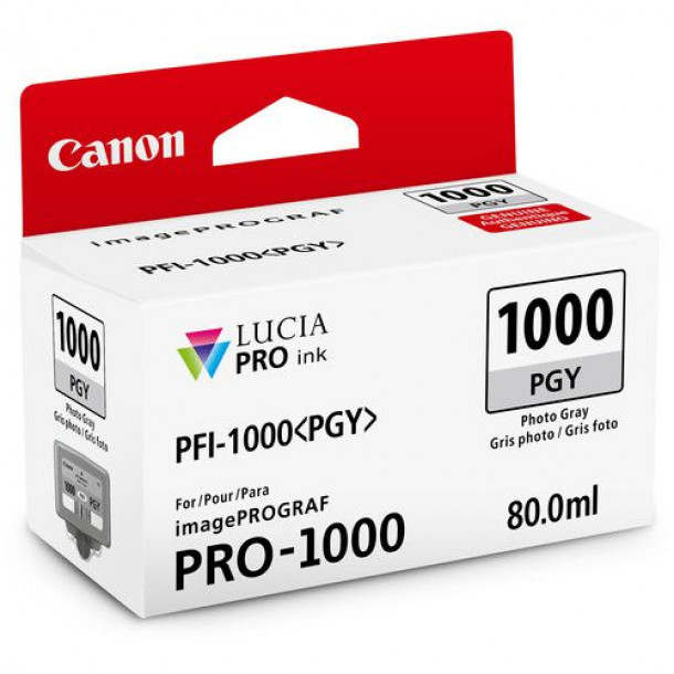 Cartucho Canon LUCIA PRO INK PFI-1000 Photo Cinza 80ml 0553C003AA