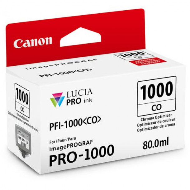 Cartucho Canon LUCIA PRO INK PFI-1000 Chroma Optimizer 80ml 0556C003AA