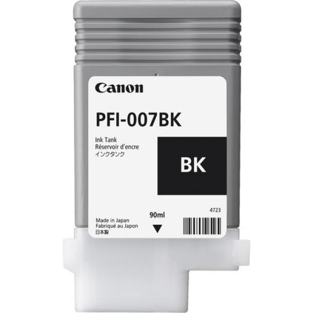Cartucho Canon LUCIA PRO INK PFI-007 Preto  90ml 2143C001AA