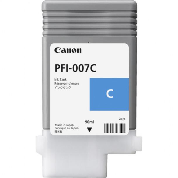 Cartucho Canon LUCIA PRO INK PFI-007 Ciano  90ml 2144C001AA