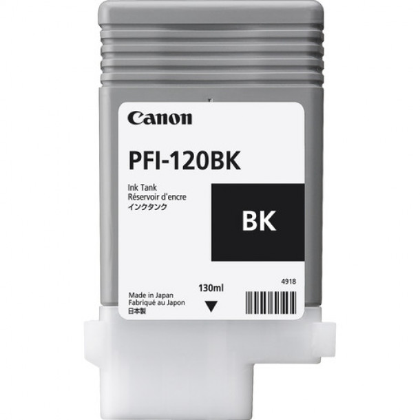 Cartucho Canon LUCIA TD PIGMENT INK PFI-120 Black 130ml 2885C001AA