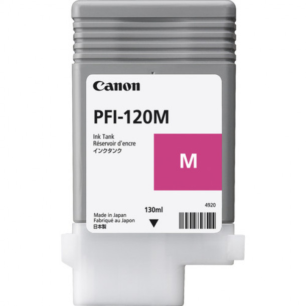 Cartucho Canon LUCIA TD PIGMENT INK PFI-120 Magenta 130ml 2887C001AA