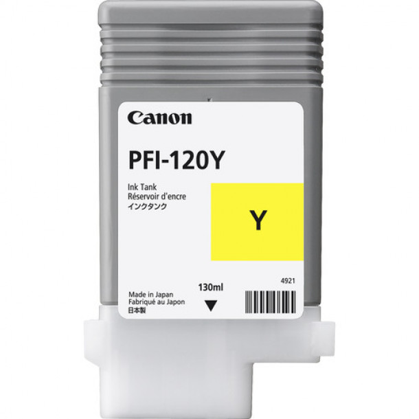 Cartucho Canon LUCIA TD PIGMENT INK PFI-120 Yellow 130ml 2888C001AA