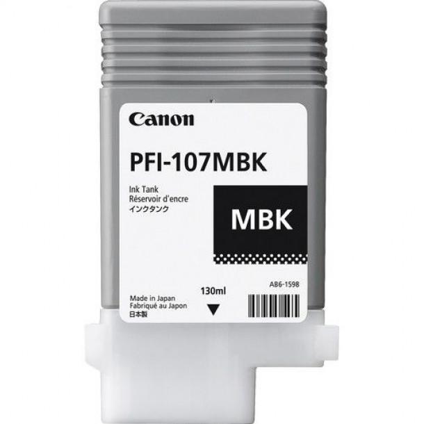 Cartucho Canon LUCIA PRO INK PFI-107 Matte Preto 130ml - kit com 5 unidades
