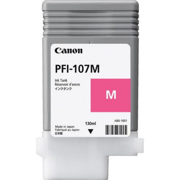 Cartucho Canon LUCIA PRO INK PFI-107 Magenta 130ml - kit com 5 unidades