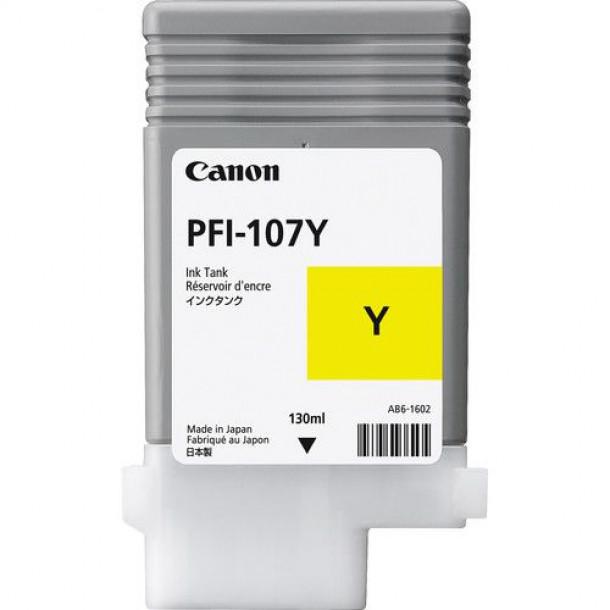 Cartucho Canon LUCIA PRO INK PFI-107 Amarelo 130ml 6708B001AA