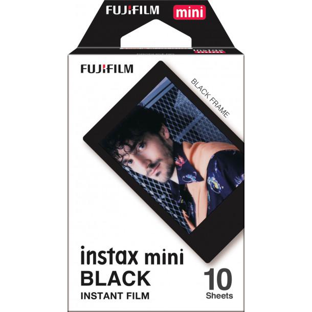 Filme Fujifilm Instax Mini Solid Black Pack c/10 Fotos