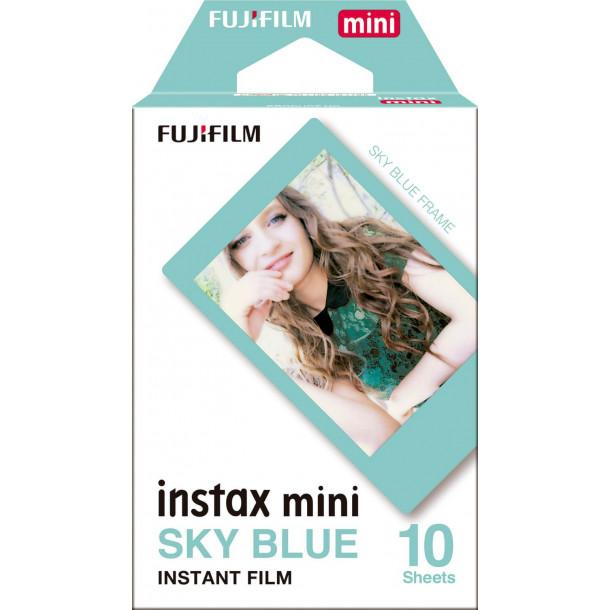 Filme Fujifilm Instax Mini Sky Blue Pack c/10 Fotos