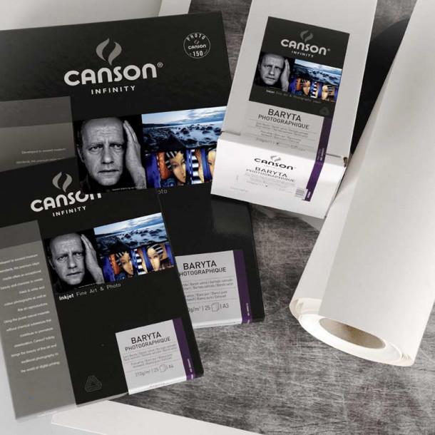 Canson Infinity Baryta Photographique 310gsm Cetim 17'' 43cm x 15 m
