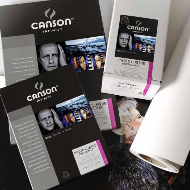 Canson Infinity Photo Lustre Premium RC 310gsm Lustroso 44'' 111cm x 25 m