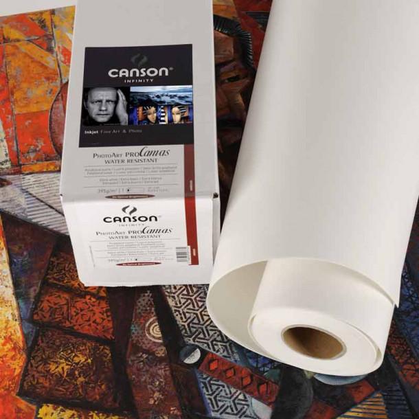 Canson Infinity PhotoArt ProCanvas 395g Matte 36'' 91 cm x 12 m