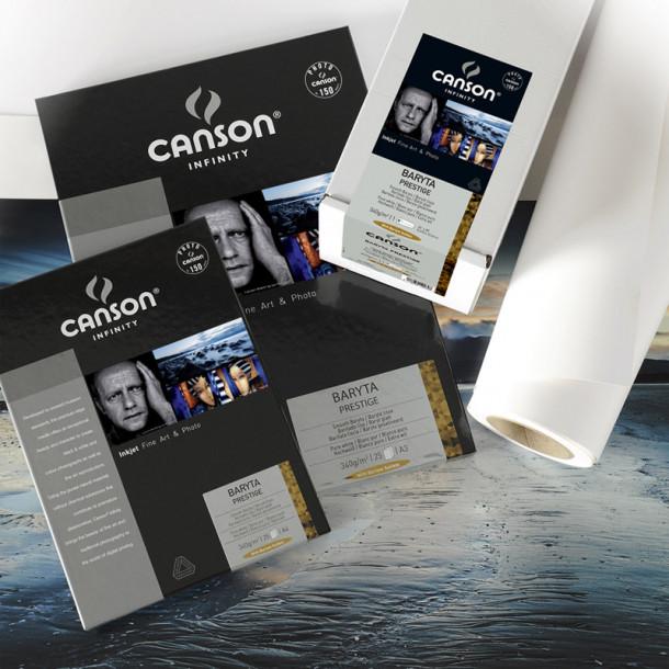 Canson Infinity Baryta Prestige 340gsm Gloss 17'' 43cmx 15 m