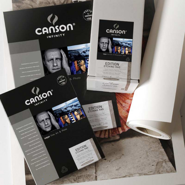 Canson Infinity Edition Etching Rag 310gsm Mate 36'' 61cm x 15 m