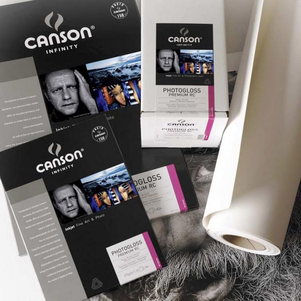 Canson Infinity PhotoGloss Premium RC 270gsm Brilhante 24'' 61cm x 30 m