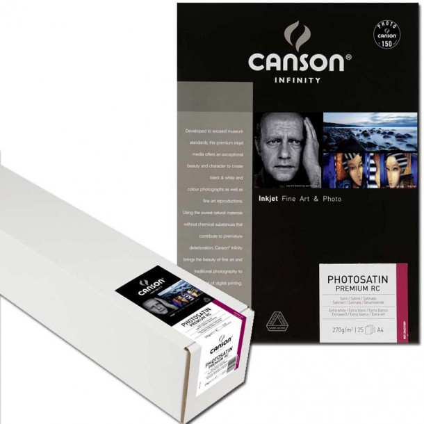 Canson Infinity Photo Satin Premium RC 270gsm 44'' 111cm x 30 m