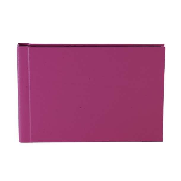 Instalivro - Livro de fotos instantâneo Horizontal Rosa para 20 Fotos 20X25 com cartão preto