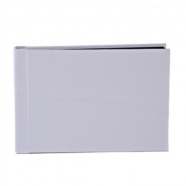 Instalivro - Livro de fotos instantâneo Horizontal Branco para 20 Fotos 20x25 com cartão preto