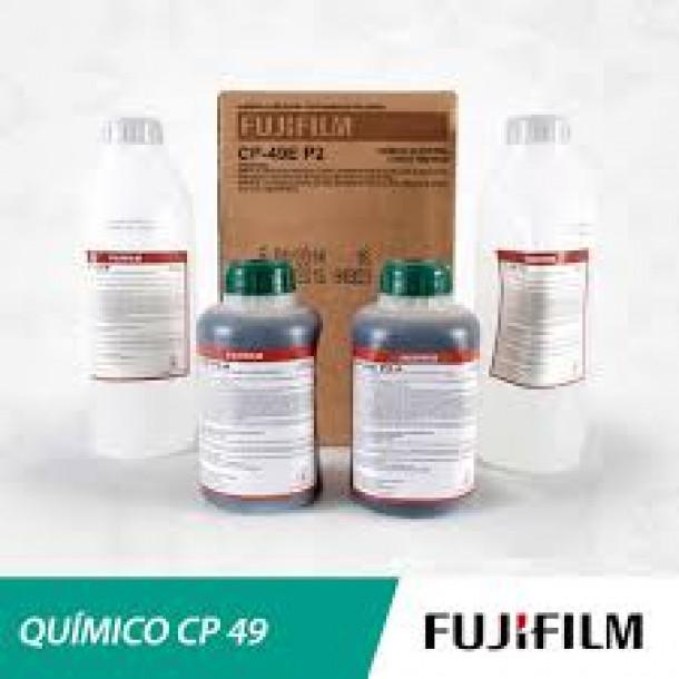Químico Fujifilm CP-49EP2 Starter do Branqueador/Fixador