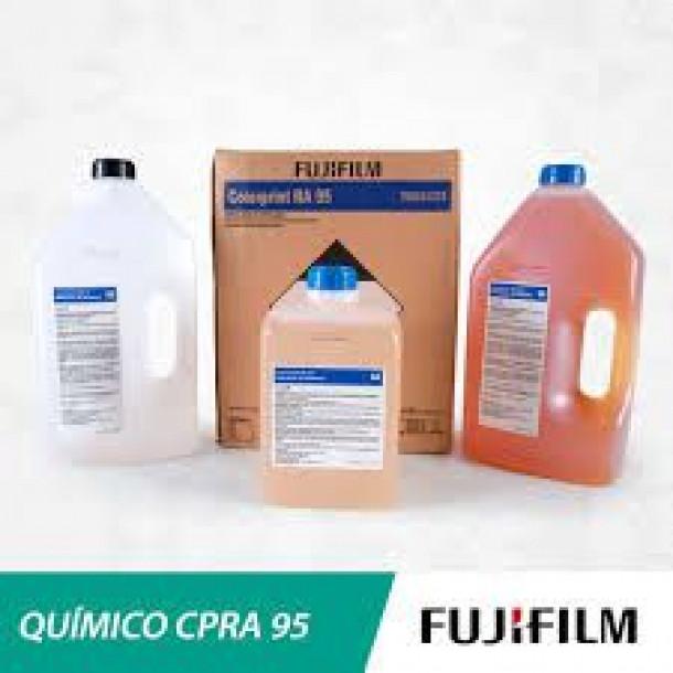 Conjunto Químico Fujifilm CPRA95 p/10lts