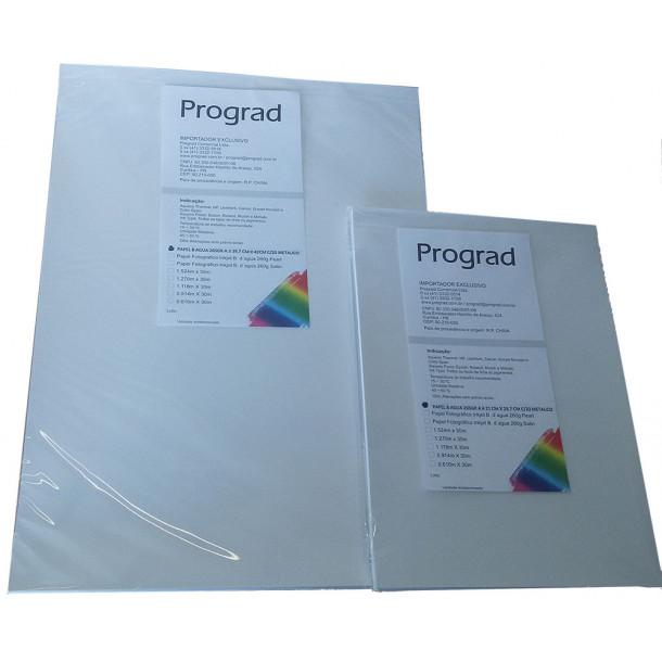 Papel PROGRAD Inkjet 265 GSM Metalico A3 com 20 folhas