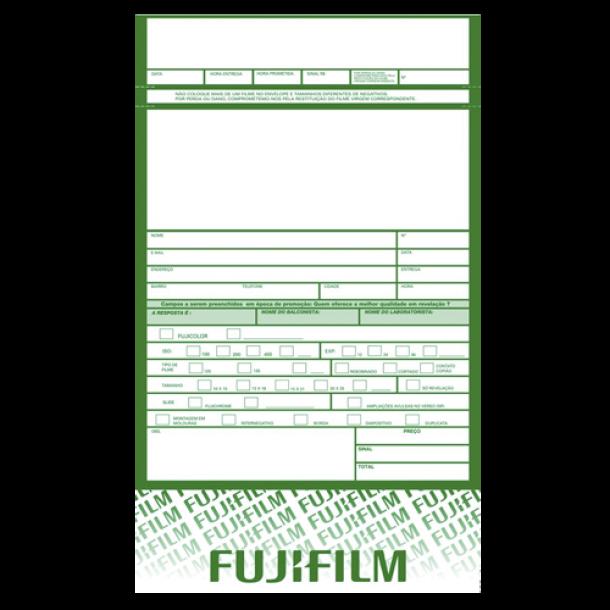 Envelope para foto acabamento FUJIFILM - cx c/1000