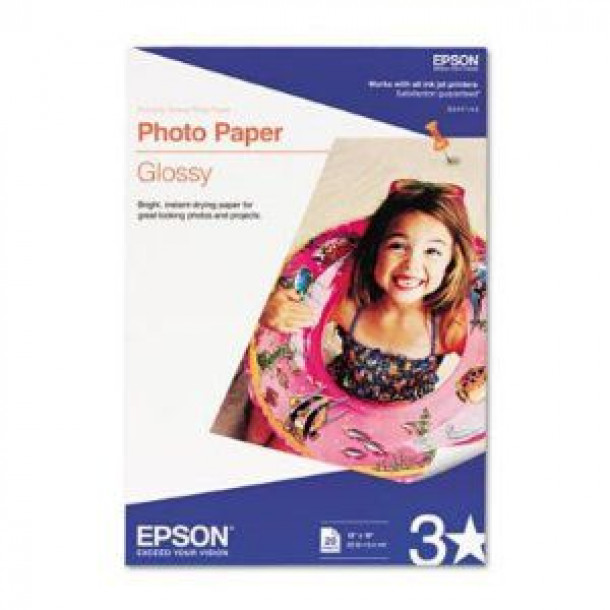 Epson Photo Paper Glossy A3+ 20 Folhas