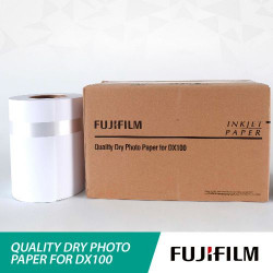 Papel FUJIFILM SmartLab DX100 Brilho 12,7cm x 65 metros