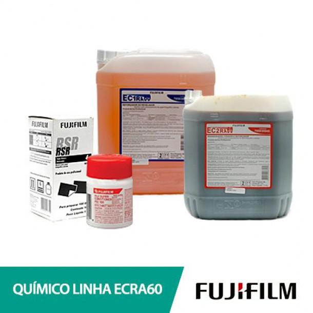 Conjunto Químico Fujifilm RA60 P1/P2/RSR p/22000 cp10x15
