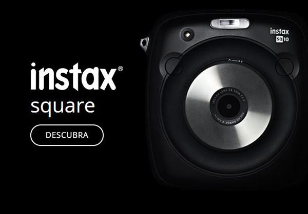 Square, a primeira câmera instax com formato quadrado