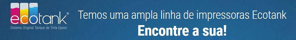 Temos uma ampla linha de impressoras Ecotank. Escolha a sua!
