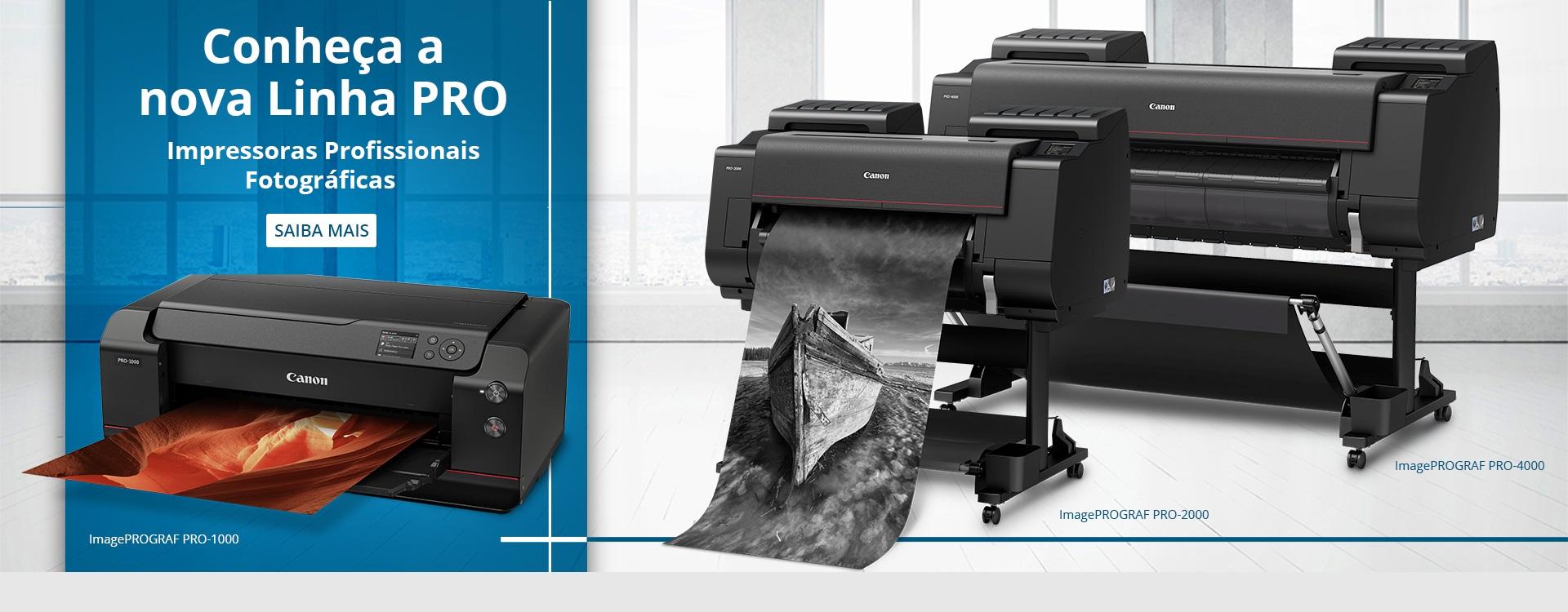 Nossas impressoras de grandes formatos vão fazer seus negócios decolarem. Saiba Mais